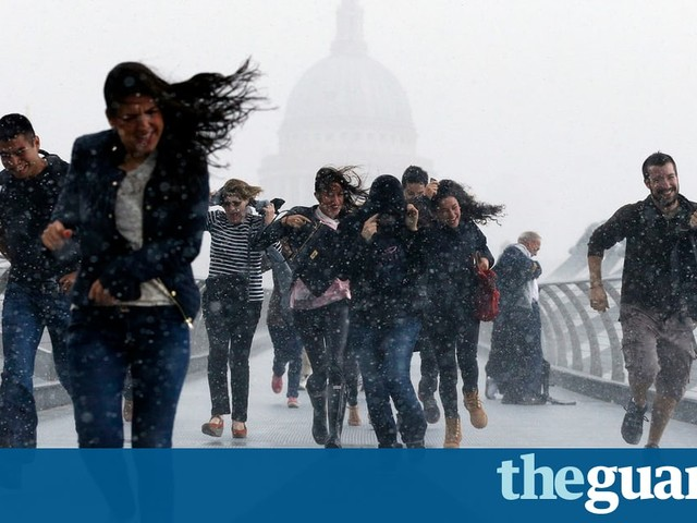 UK should increasingly expect record winter rains, says Met Office