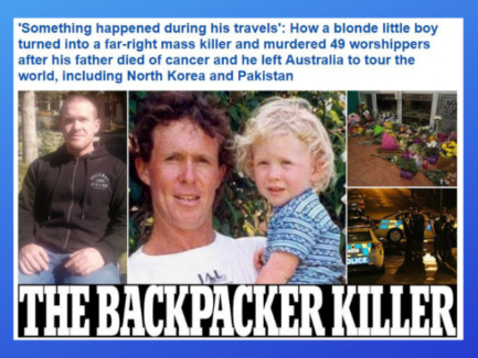 After Christchurch: Daily Mail discovers the killer's angelic blonde roots