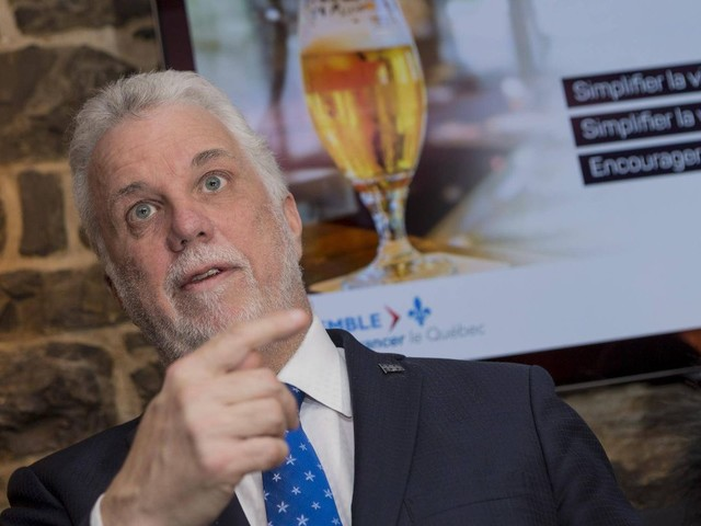 Couillard open to giving Montreal's subway contract to Bombardier