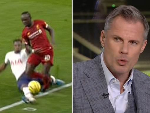 Jamie Carragher admits Liverpool's winning goal should not have stood