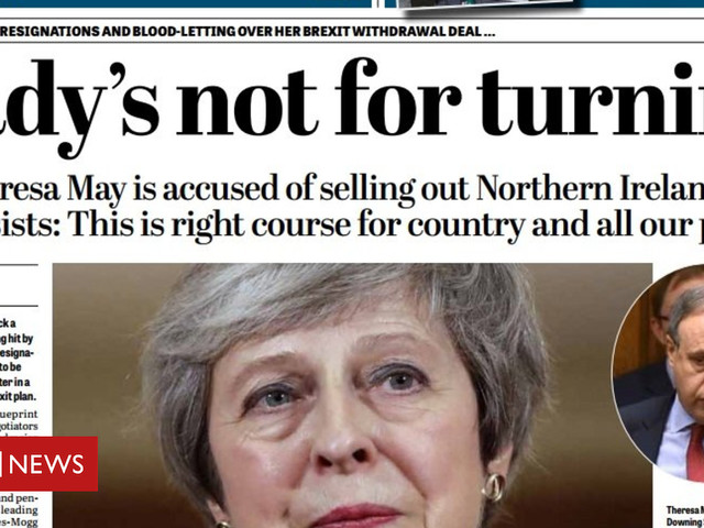 NI Paper Review: Derry Girls return and Mrs May's battle