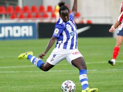 Kanteh on target as Sporting Huelva compound Logrono's woes