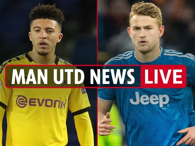 7am Man Utd news LIVE: Jadon Sancho transfer LATEST, Matthijs de Ligt's father-in-law discusses move, Ighalo on future