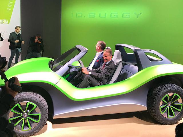 Volkswagen ID Buggy concept previews fun EV off-roader