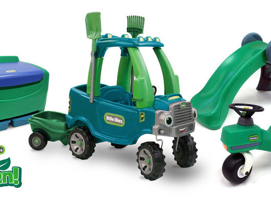 Eco-Friendly Toddler Toys - Little Tikes' Go Green Line is Made Entirely with PCR & PIR (TrendHunter.com)