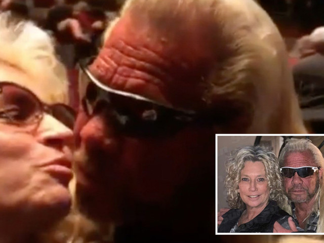 Dog the Bounty Hunter posts video kissing late wife Beth after saying he will 'marry' new girlfriend Francie Frane