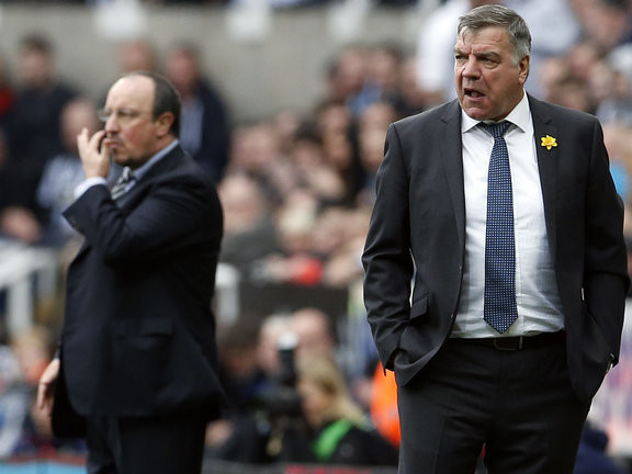 Big Sam backs Newcastle owner, says Benitez should stop moaning