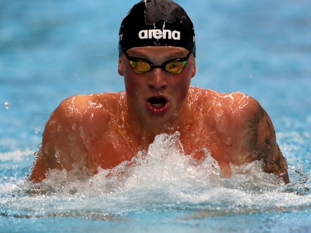 Olympic Swimming Champion Adam Peaty On Wanting To Leave A Legacy: 'No One Works As Hard As Me'