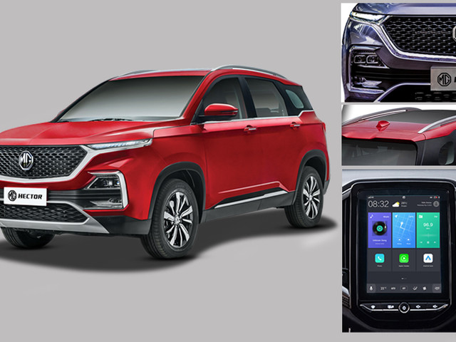 MG Hector vs rivals: Features comparison
