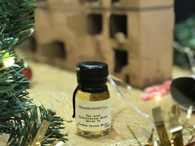 Whisky Advent 2017 Day #15: The Lost Distilleries Blend – Batch 10
