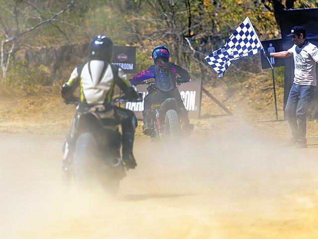 Harley-Davidson Flat Track ride experience