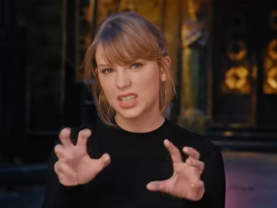 Taylor Swift Gets Her Claws Out in 'Cats' Behind-The-Scenes Look (Video)