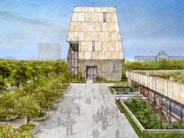 Obama just unveiled the design for his $500 million presidential library