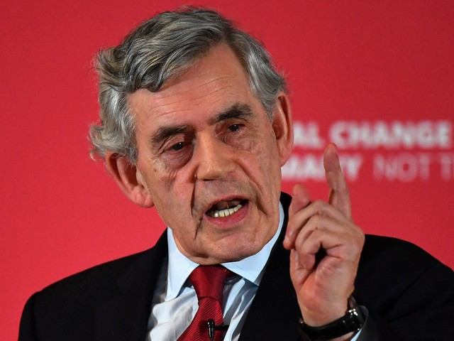 Ex-PM Gordon Brown hits out at Boris Johnson's 'PR gestures' as he calls for radical change to hold UK together