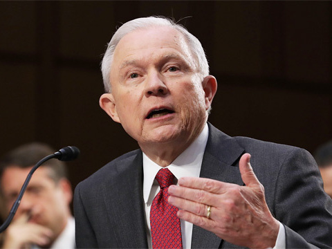 Jeff Sessions Argues To The Senate That DACA 'Could Not Be Sustained' Because It's 'Unlawful'