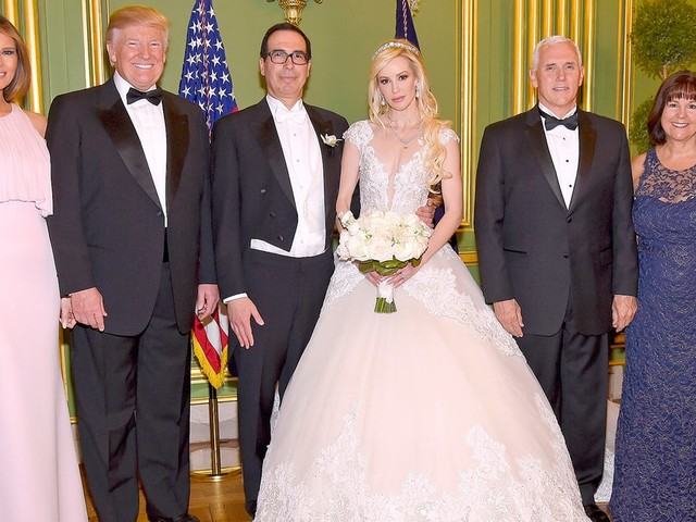 Donald, Melania and Ivanka Trump Attend Treasury Secretary Steven Mnuchin's Wedding, Officiated by Mike Pence