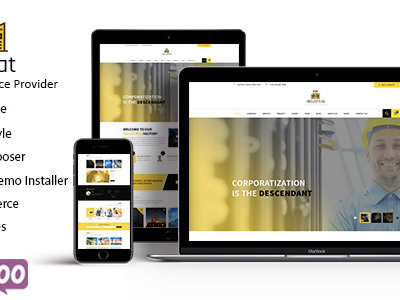Industrial - Industry & Business WordPress Theme (Business)