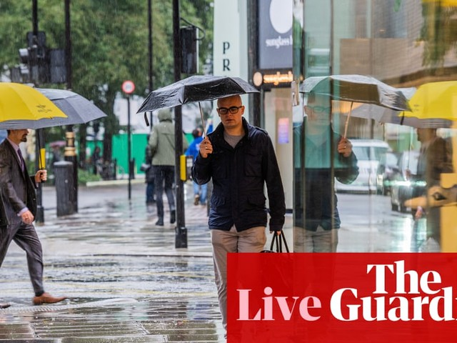 UK consumer confidence tumbles but retail sales keep recovering – business live