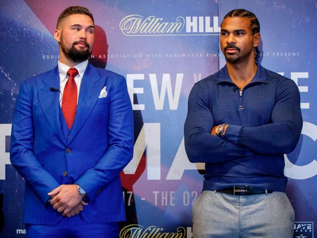 David Haye reveals rescheduled Tony Bellew rematch will be in March or May