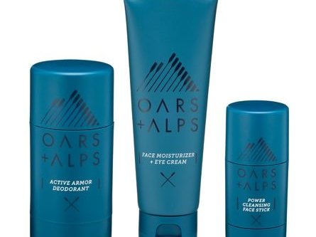 Active Natural Skincare Kits - The Oars + Alps Full Kit for Men is Ideal for Everyday or Travel Use (TrendHunter.com)