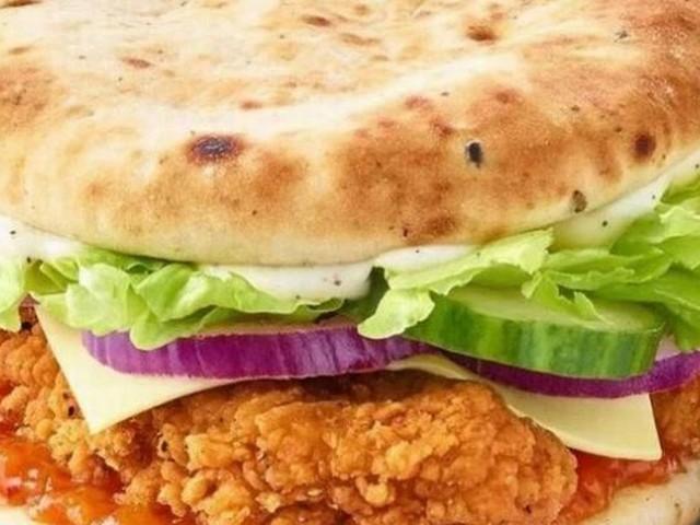 McDonald's launching new Indian Chicken Burger served in a garlic naan bun