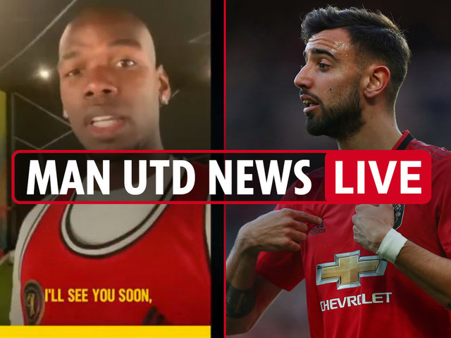 7.10pm Man Utd news LIVE: Bruno Fernandes leaked WhatsApp messages, Pogba shaves head, Sancho transfer could collapse