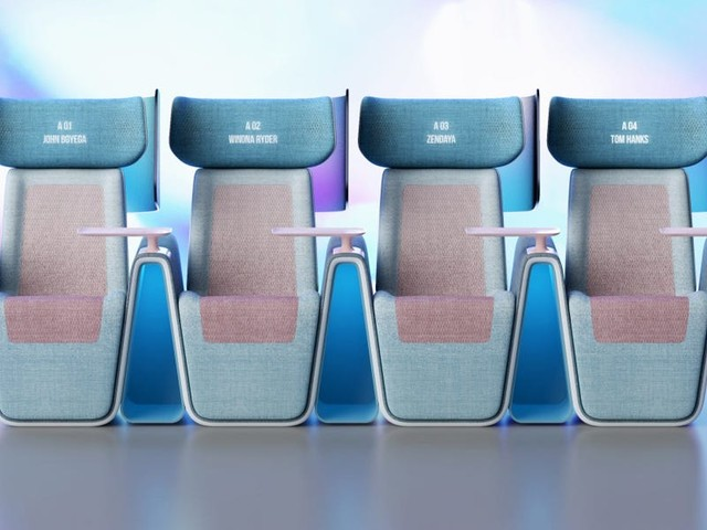 A London studio created this seat design to get people back into the movie theater safely as theatre chains suffer due to the ongoing pandemic