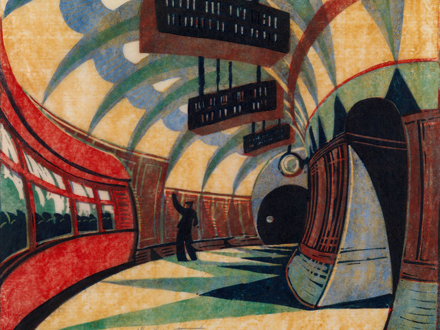 Celebrating Britain's vibrant history of linocut printing
