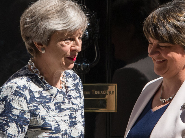DUP Come To Theresa May's Rescue As Queen's Speech Squeaked Through Parliament