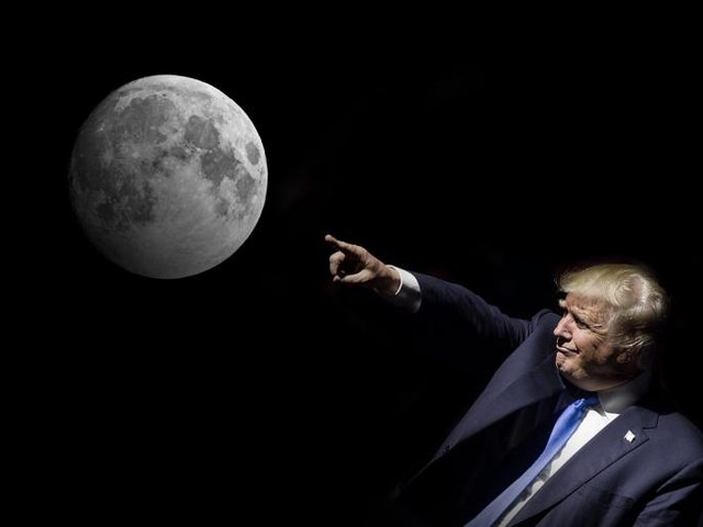 Donald Trump Should Stop Obsessing Over the Moon