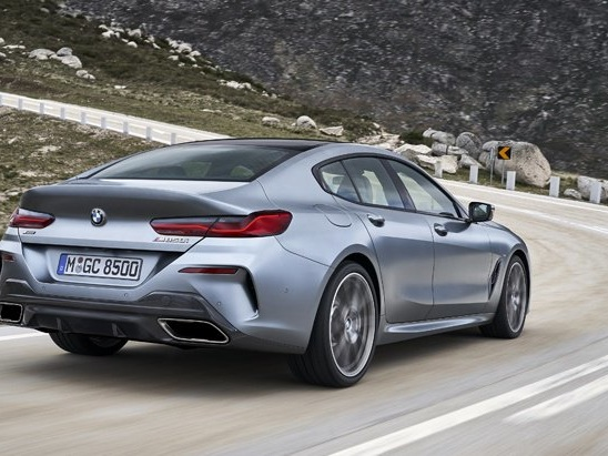 BMW 8 Series Gran Coupe is a Party in the Back