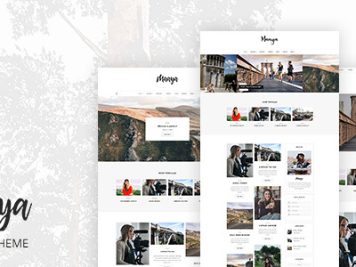 Maaya - Blog & Shop WordPress Theme (Personal)