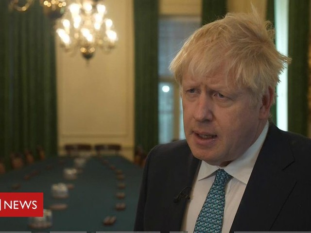 Boris Johnson pays tribute to police officer killed