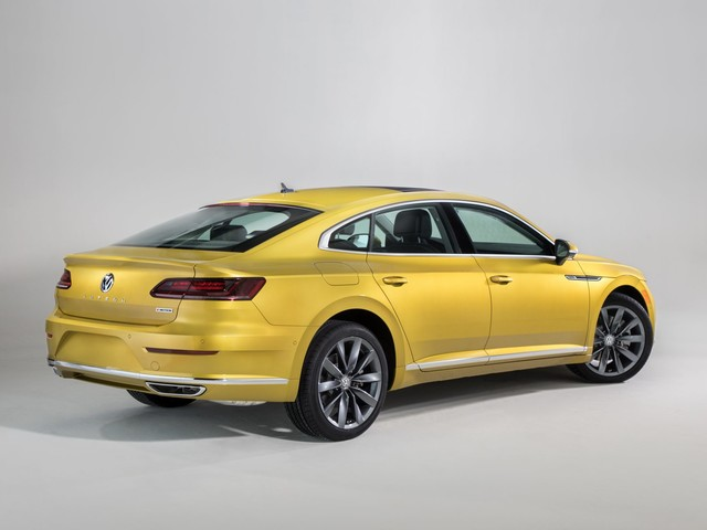 Cash Piling Up on the Hood of Volkswagen's Arteon