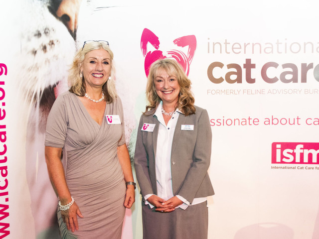International Cat Care celebrates 60th birthday at its Annual Awards
