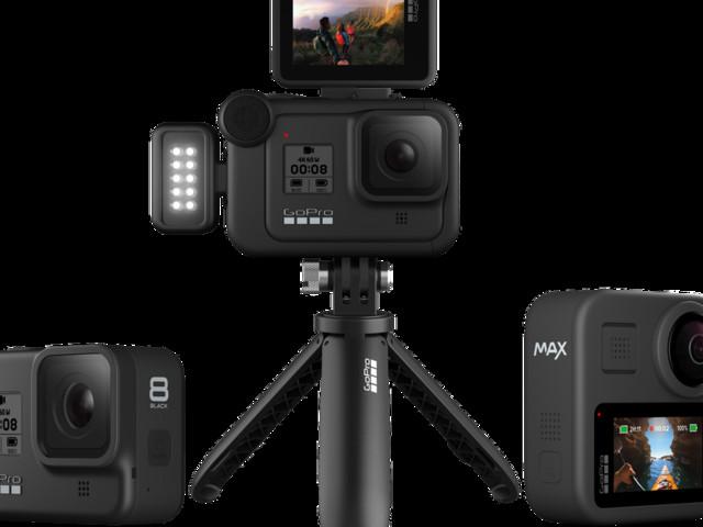 GoPro unveils new modular Hero 8 and 360-degree Max camera