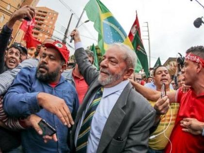 Support for Lula's presidential bid despite his corruption conviction