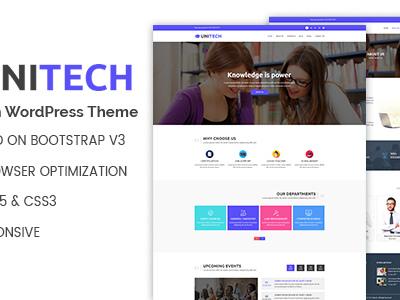 Unitech - Education WordPress Theme (Education)