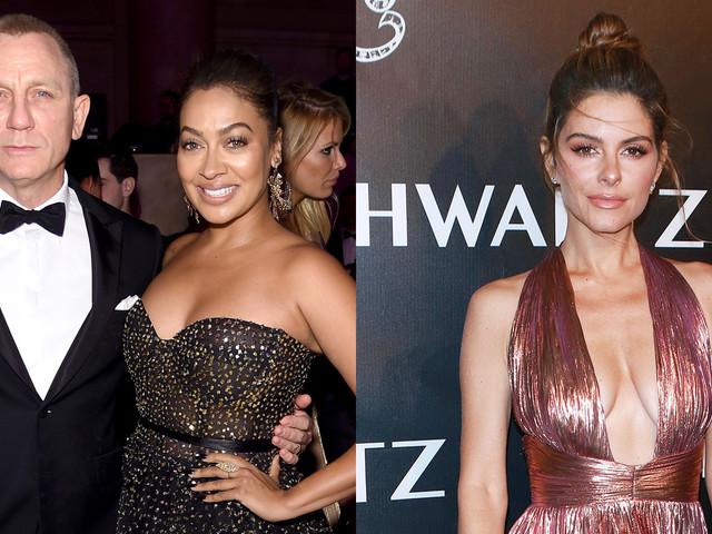 Daniel Craig, Maria Menounos, & La La Anthony Step Out for Angel Ball 2017