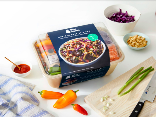 Blue Apron will start selling its meal kits in stores