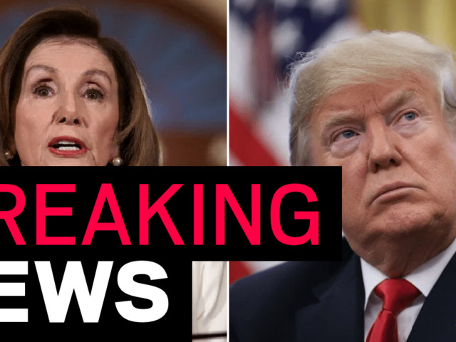 Nanci Pelosi asks for Donald Trump impeachment articles to be drafted