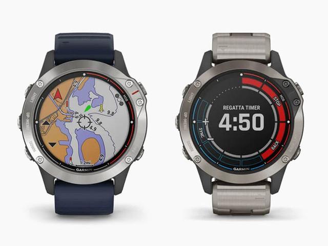 Boat-Controlling Smartwatches - The Garmin Quatix 6 Smartwatch Has Autopilot for Fishing Boats (TrendHunter.com)