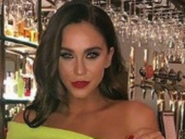 Vicky Pattison shows us how to wear neon on a night out in Manchester