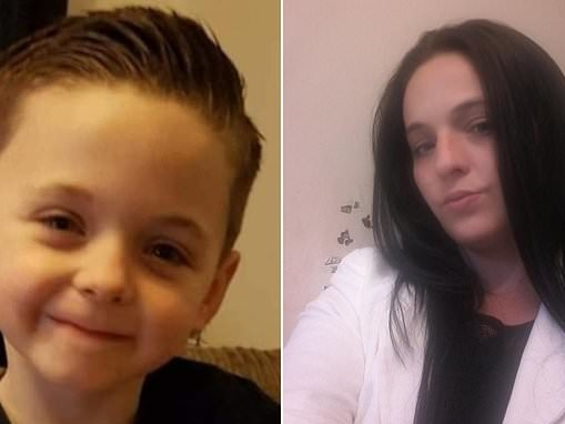 Devastated mother, 31, tells how her son, eight, collapsed and died of mystery illness