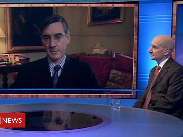 Brexit: Adonis and Rees-Mogg go head to head