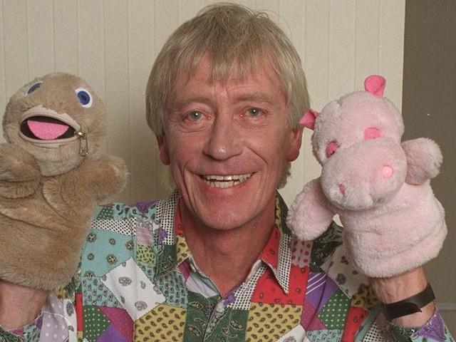 Rainbow host Geoffrey Hayes has died, aged 76