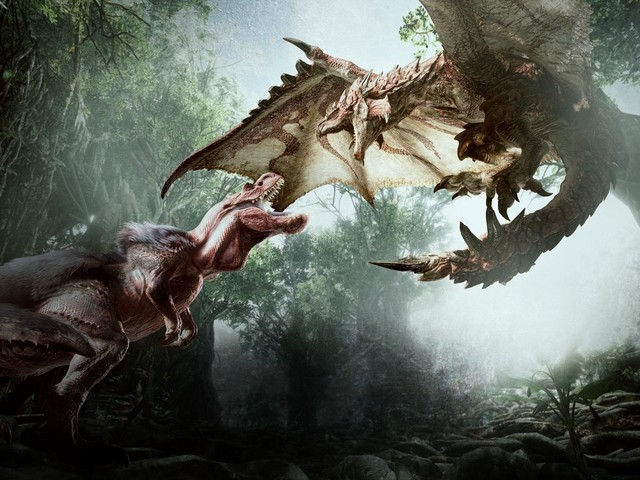 Monster Hunter World: see the glider mantle in action, hear Capcom answer veteran questions