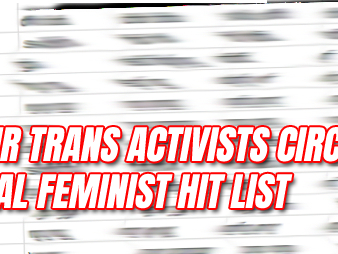 Labour Trans Activists Circulate Radical Feminist Hit List