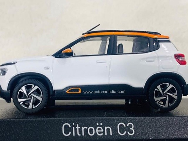 New Citroen C3 (C21) compact SUV India launch next year