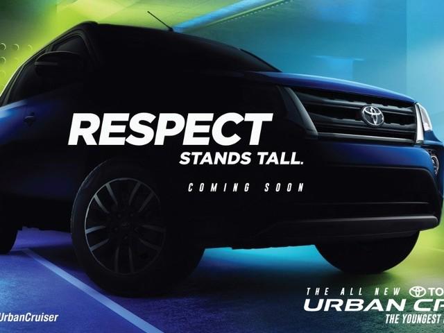 Toyota Urban Cruiser Teased Again In India; Reveals More Design Details